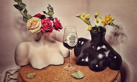 VAZA CHLOE, artă cu rol de vază și decorațiune interioară [0]