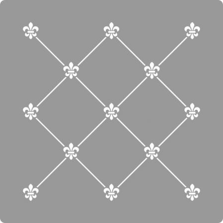 Sablon Refolosibil Repetitiv Puncte Damask 590*590mm - SP82-4 [1]
