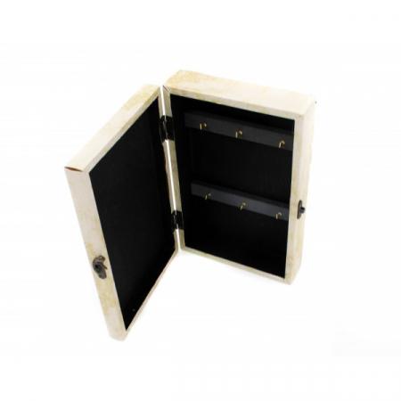 Suport pentru chei din Lemn cu PVC - model Fluturi [1]