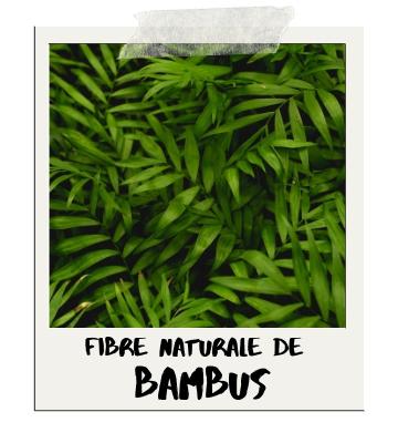 Fibre de bambus 100% naturale