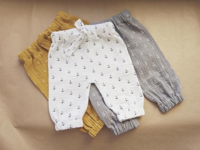 Pantaloni lungi din muselina 1