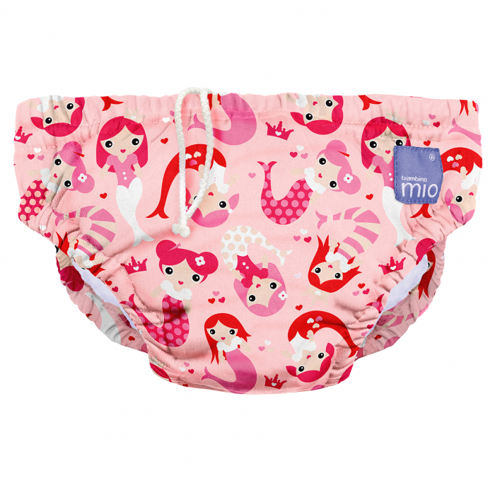 BAMBINO MIO REUSABLE SWIM NAPPY, MERMAID, EXTRA LARGE (2+ YEARS) 0