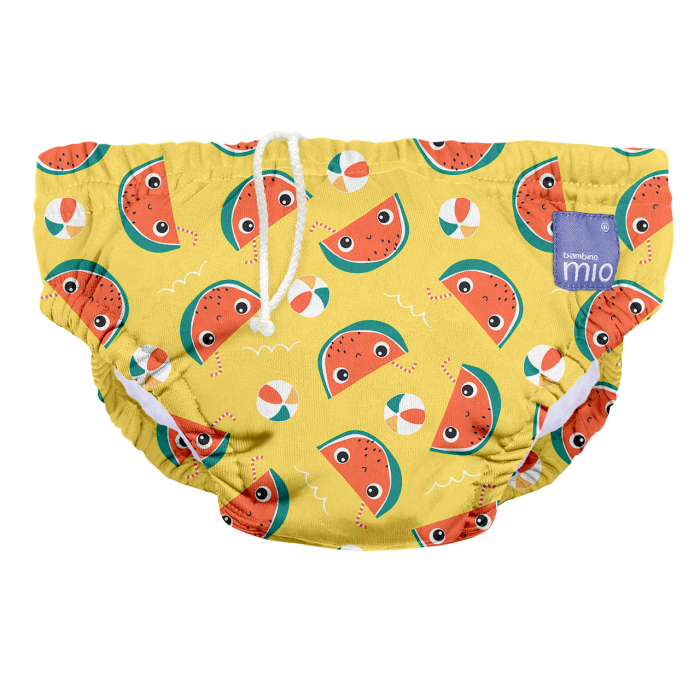 BAMBINO MIO REUSABLE SWIM NAPPY, ALL ABOARD, EXTRA LARGE (2+ YEARS) [0]