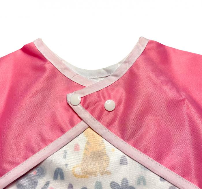 Bavetica cu maneca lunga - Coccorito Jungla roz 1 [3]