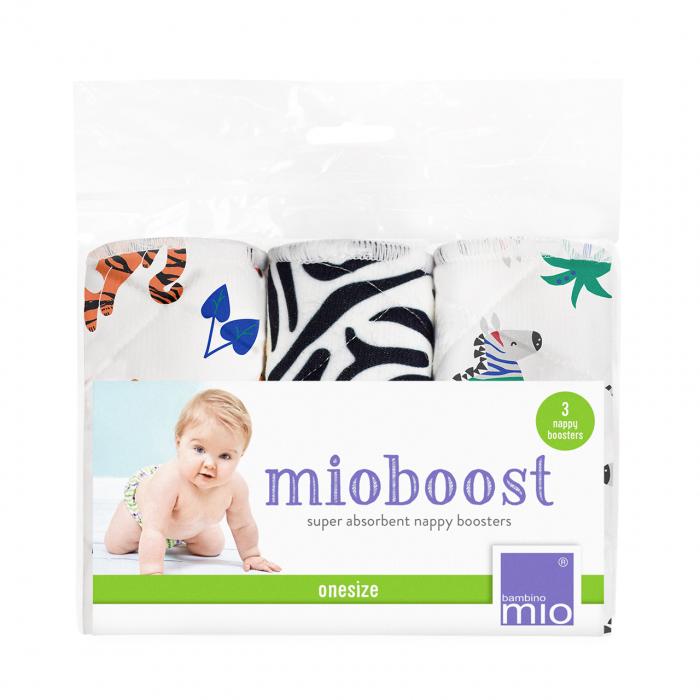 Set 3 scutece absorbante Mioboost - Bambino Mio Savanna Stripes [0]