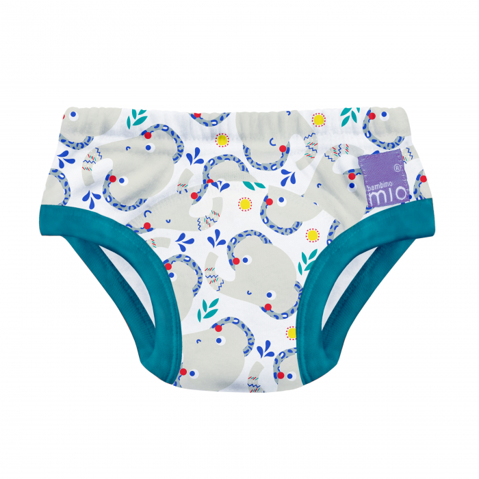 BAMBINO MIO POTTY TRAINING PANTS, ELEPHANTASTIC, 2-3 YEARS 0