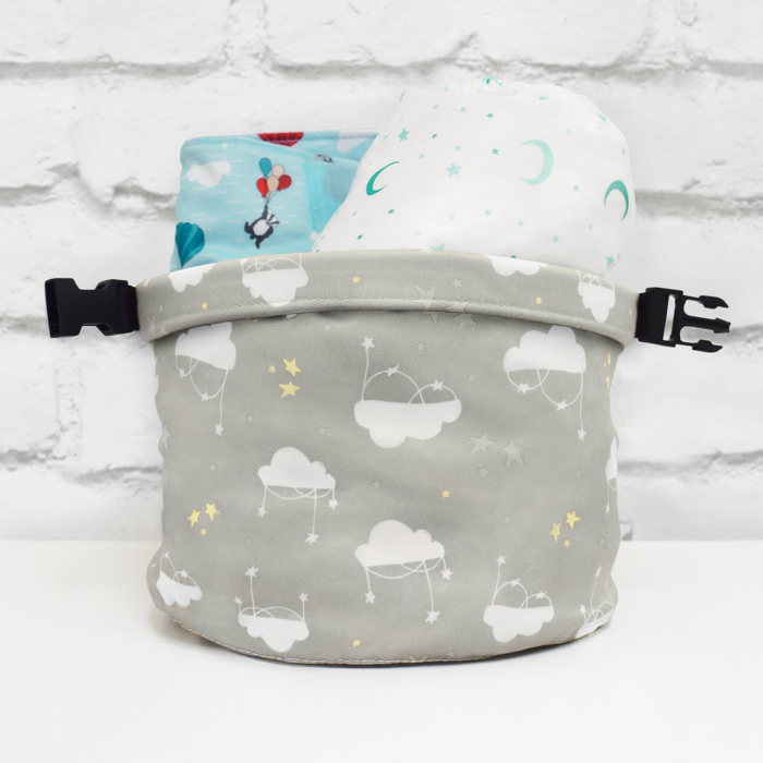 BAMBINO MIO WET BAG, CLOUD NINE 2