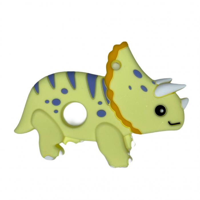 Jucărie pentru dentiție din silicon - raton maro [17]