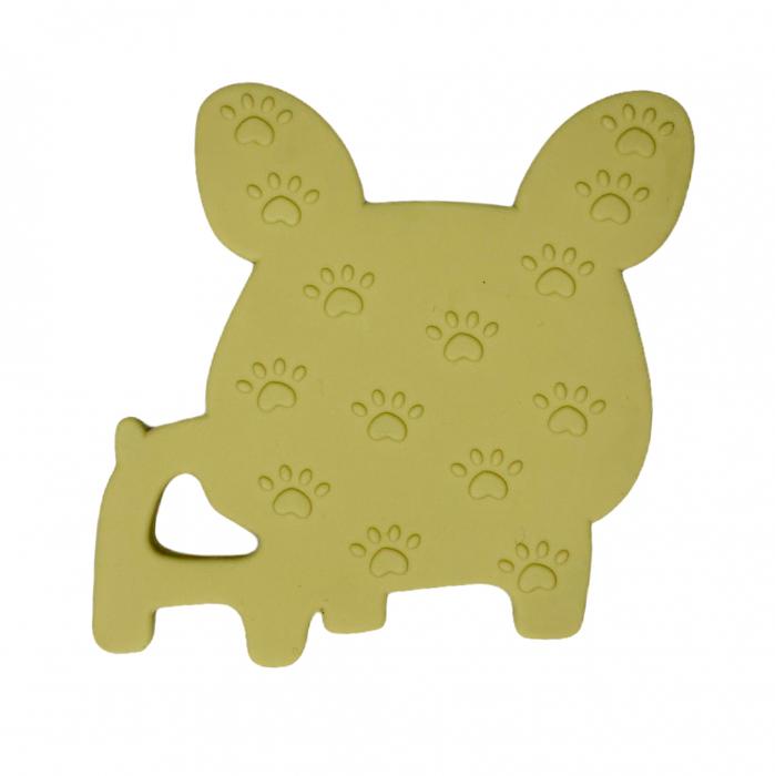 Jucărie pentru dentiție din silicon - raton maro [7]