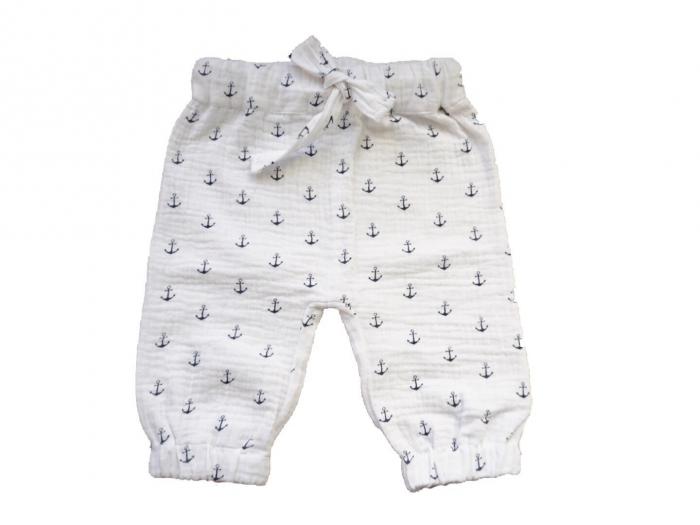 Pantaloni lungi din muselina 0