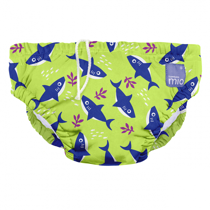 BAMBINO MIO REUSABLE SWIM NAPPY, MERMAID, EXTRA LARGE (2+ YEARS) 13