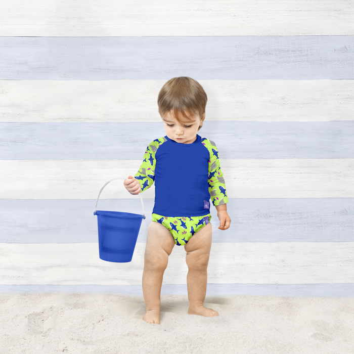 BAMBINO MIO REUSABLE SWIM NAPPY, MERMAID, EXTRA LARGE (2+ YEARS) 12