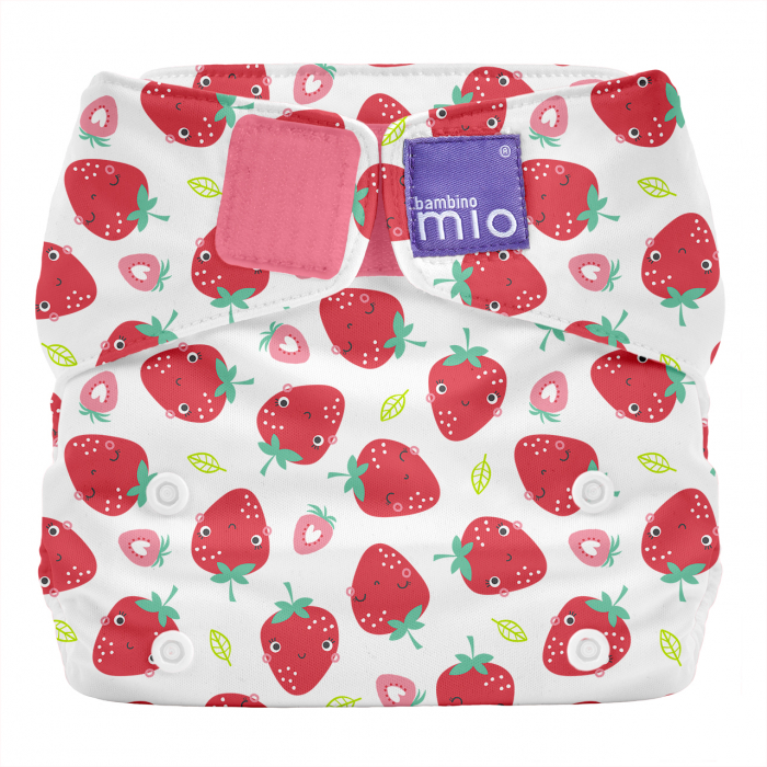 Scutec refolosibil All-In-One - Bambino Mio Strawberry [0]