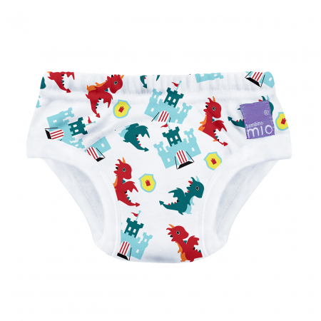 BAMBINO MIO POTTY TRAINING PANTS, DRAGON'S DUNGEON, 2-3 YEARS0