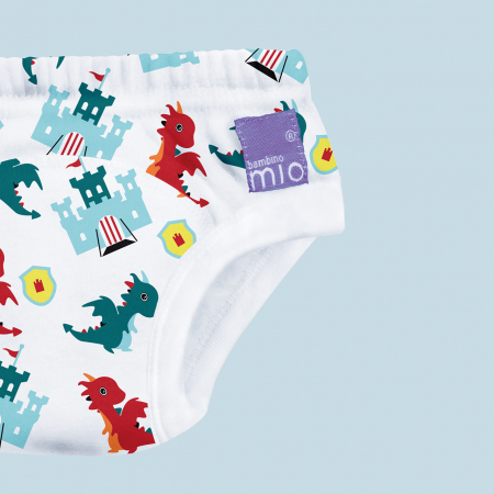 BAMBINO MIO POTTY TRAINING PANTS, DRAGON'S DUNGEON, 2-3 YEARS2