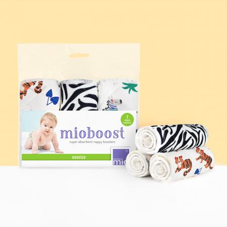 Set 3 scutece absorbante Mioboost - Bambino Mio Savanna Stripes [1]