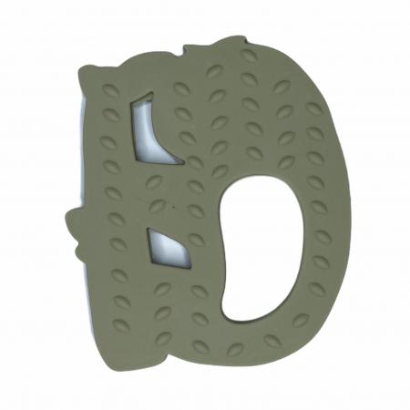 Jucărie pentru dentiție din silicon - raton maro [10]