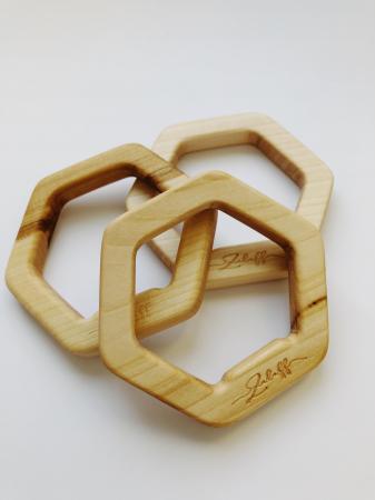 Jucarie dentitie din lemn de tei1