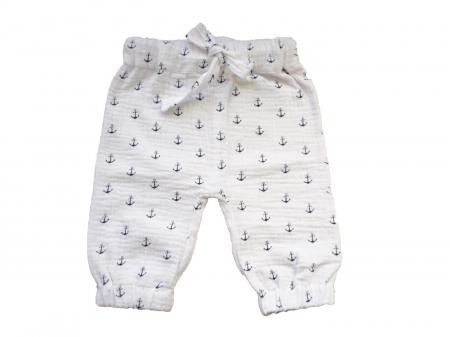 Pantaloni lungi din muselina0