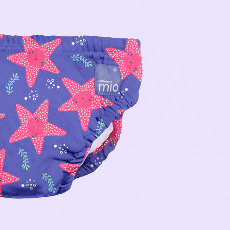 BAMBINO MIO REUSABLE SWIM NAPPY, PINK FLAMINGO, EXTRA LARGE (2+ YEARS)16