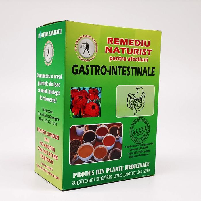 Ceai pentru afectiuni gastro - intestinale Tirban Marius Fitoterapeut 0