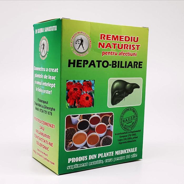 ceaiul pentru afectiuni hepato-biliare de la Tirban Marius - Fititerapeut 0