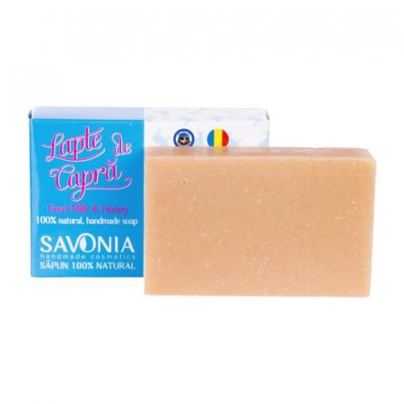 Sapun natural lapte de capra si miere Savonia [0]