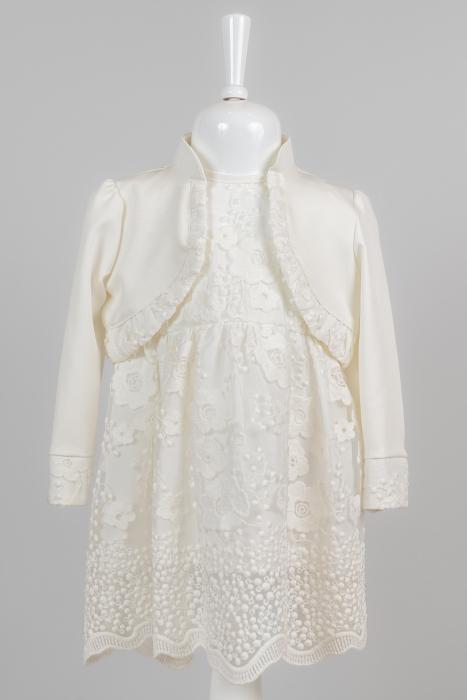 Rochie albă elegantă pentru fete [0]