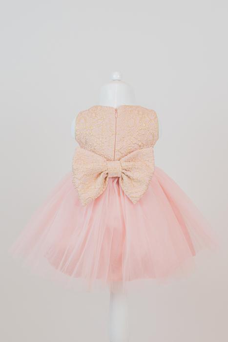 Set rochiță elegantă Dalia din tulle și tafta [2]
