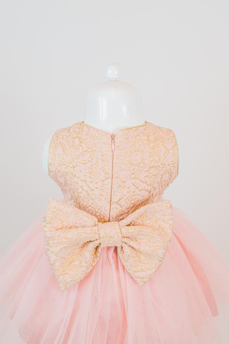 Set rochiță elegantă Dalia din tulle și tafta [3]