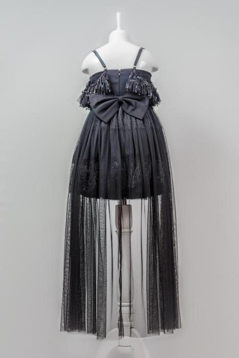 Rochiță neagră elegantă modernă pentru fetiță [2]