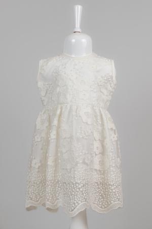 Rochie albă elegantă pentru fete [1]