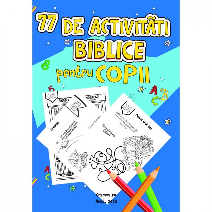 Carte cu activități biblice pentru copii [0]