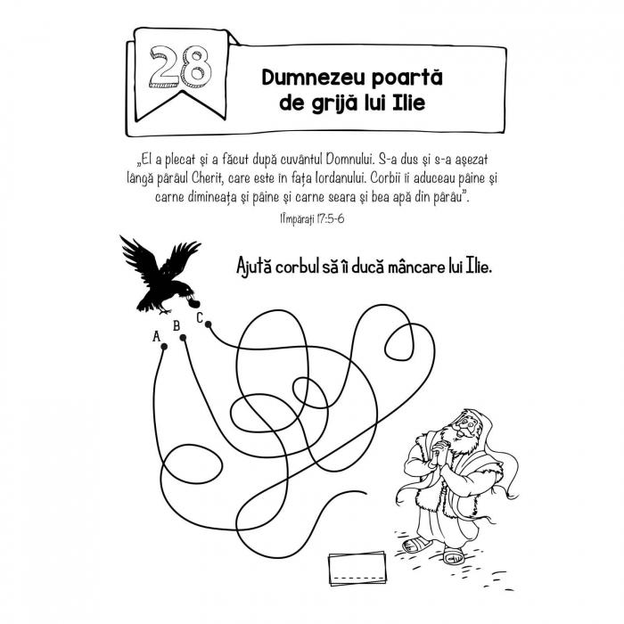 Carte cu activități biblice pentru copii [4]