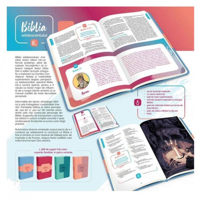 Biblia adolescentului - copertă roz [1]