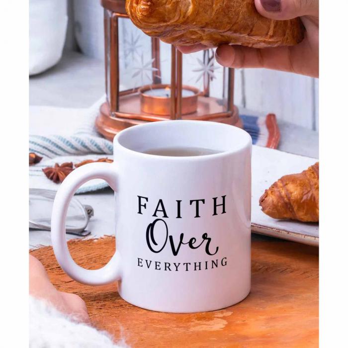 Cana ceramica Faith Over Everything [2]