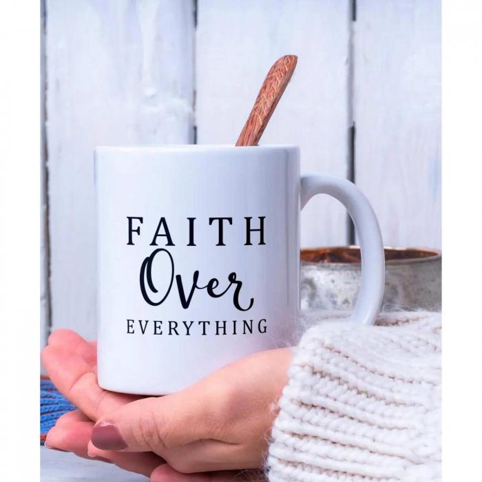 Cana ceramica Faith Over Everything [3]