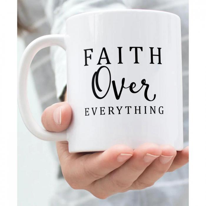 Cana ceramica Faith Over Everything [4]