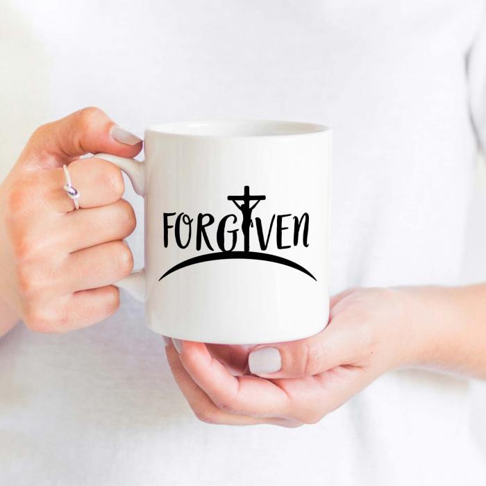 Cana cu mesaj creștin Forgiven [1]