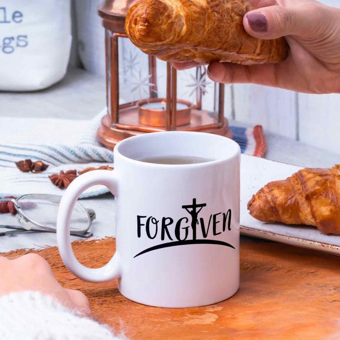 Cana cu mesaj creștin Forgiven [4]