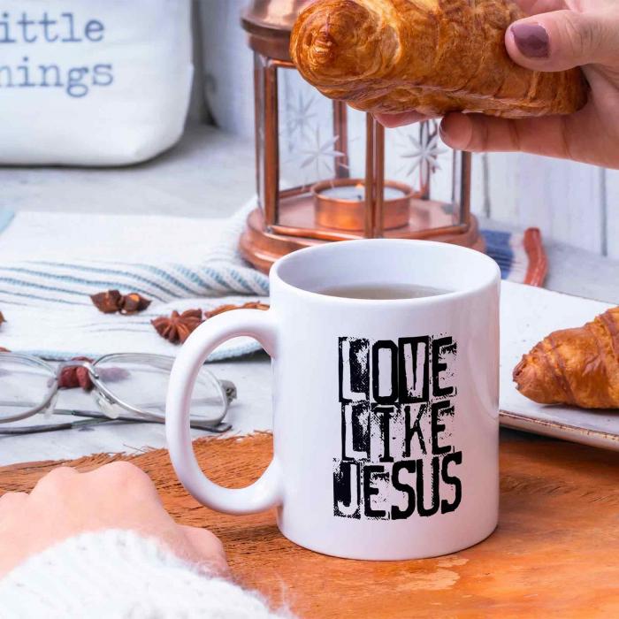 Cana cu mesaj crestin Live Like Jesus [4]