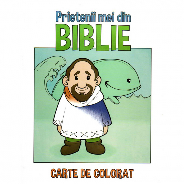 Carte de colorat - Prietenii mei din Biblie [0]