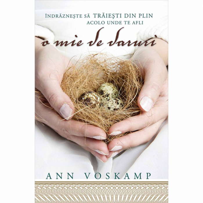 Cărți Ann Voskamp - O mie de daruri [0]