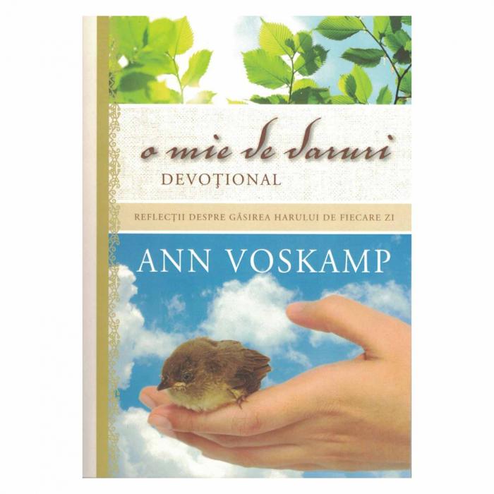 Carti Ann Voskamp - O mie de daruri. Devotional [0]