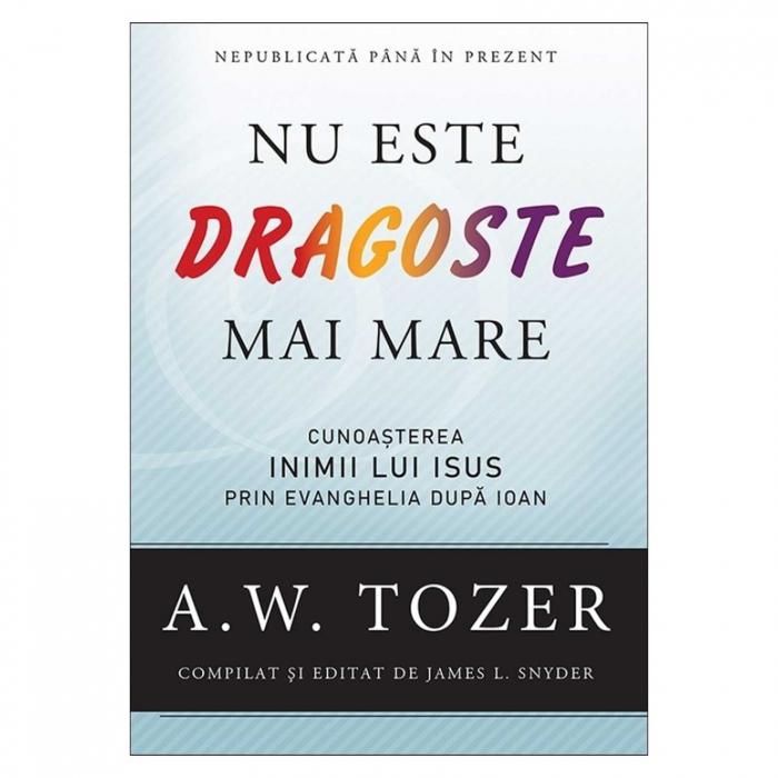 Carti Tozer - Nu este dragoste mai mare [0]