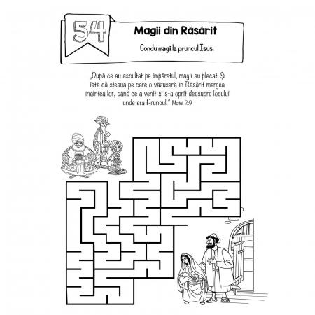 Carte cu activități biblice pentru copii [3]