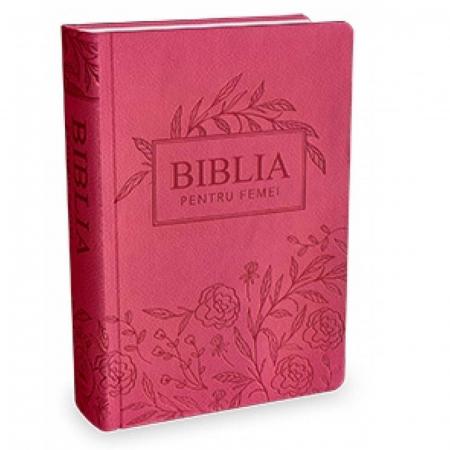 Biblia pentru femei - mare, roz inchis [0]