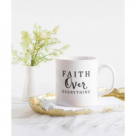 Cana ceramica Faith Over Everything [1]