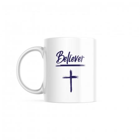Cana cu mesaj crestin - Believer [0]