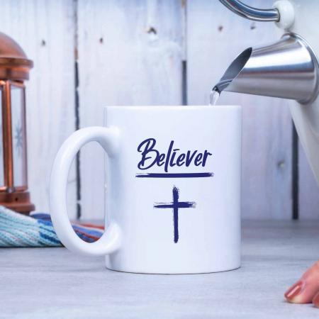 Cana cu mesaj crestin - Believer [2]